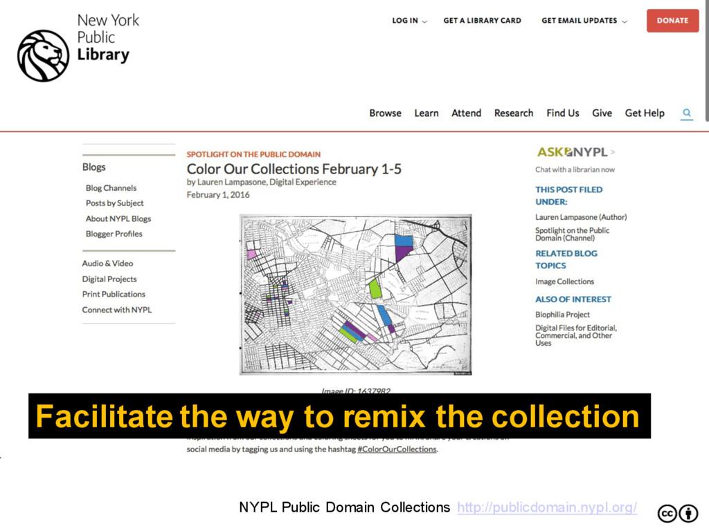 NYPL Public Domain Collections http://publicdom...