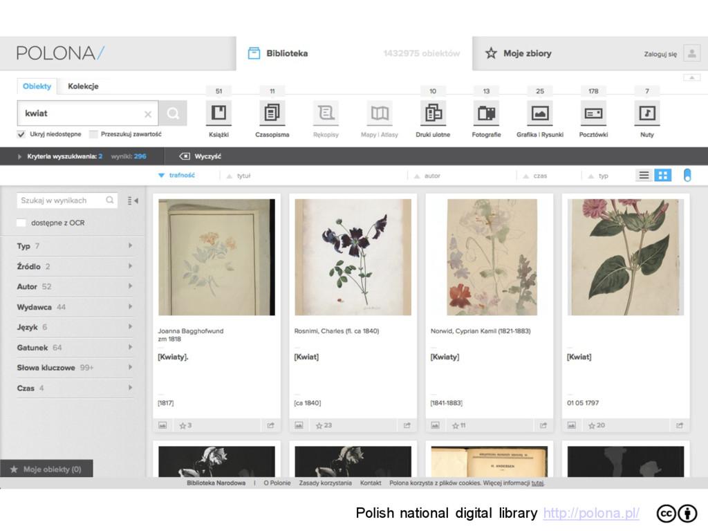 Polish national digital library http://polona.p...