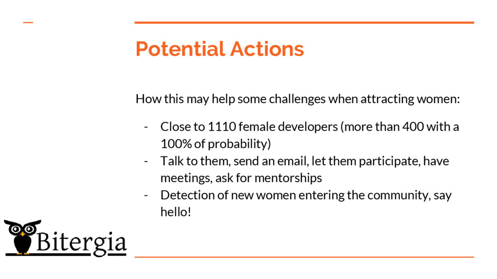 Potential Actions How this may help some challe...