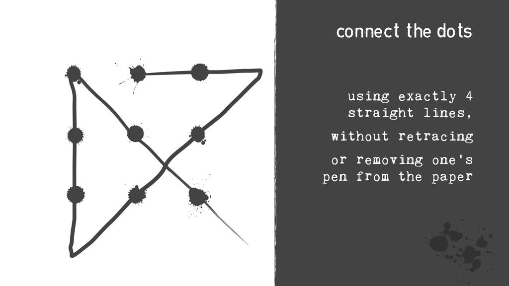 h - W < å ≥ h ≥ U using exactly 4 straight line...