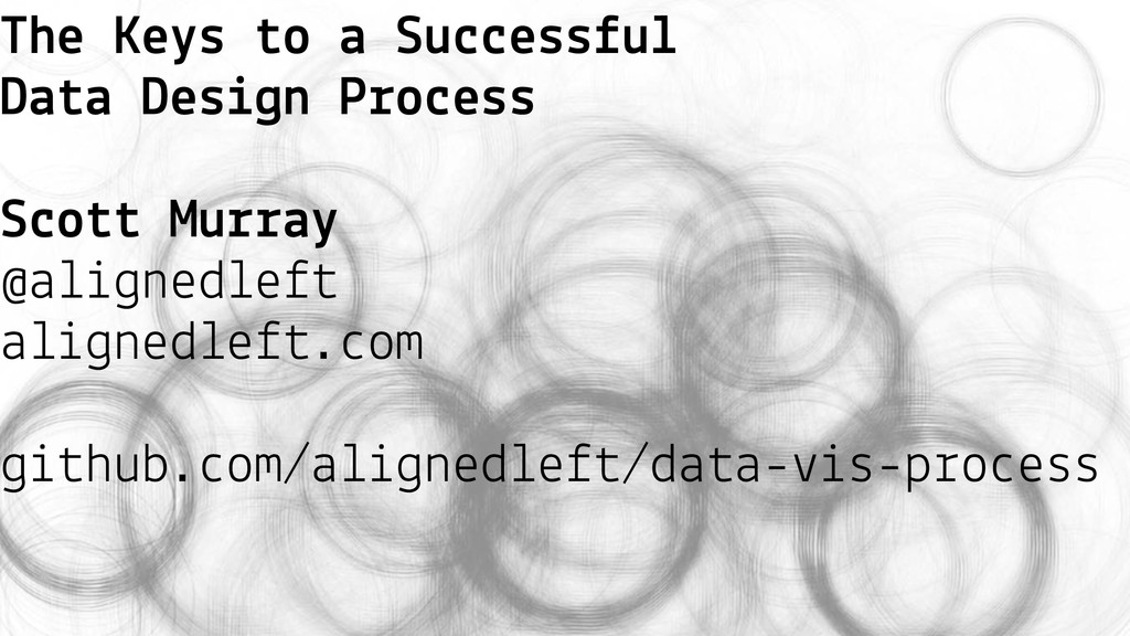 The Keys to a Successful Data Design Process Sc...