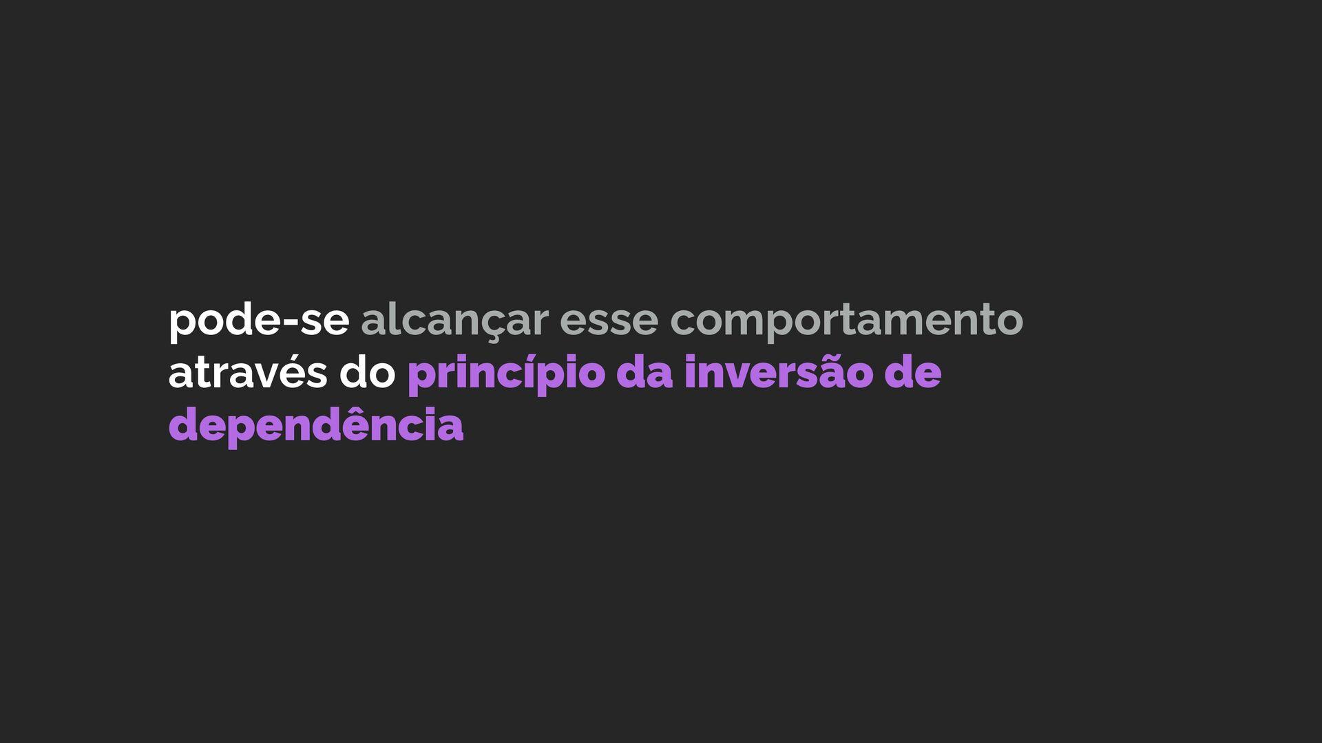 a utilização da arquitetura ports and adapters ...