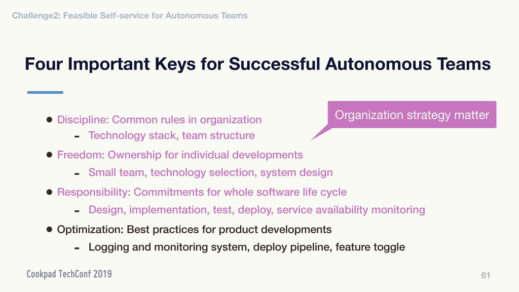 Four Important Keys for Successful Autonomous T...