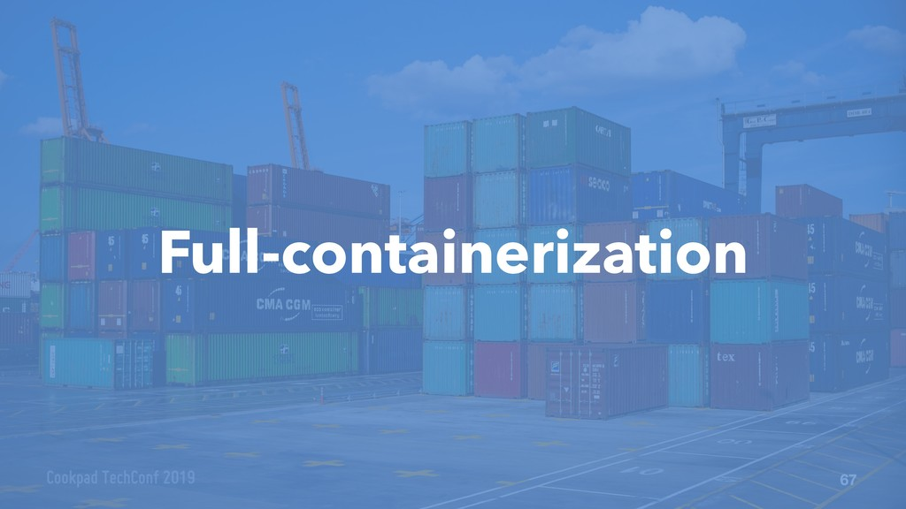67 Full-containerization