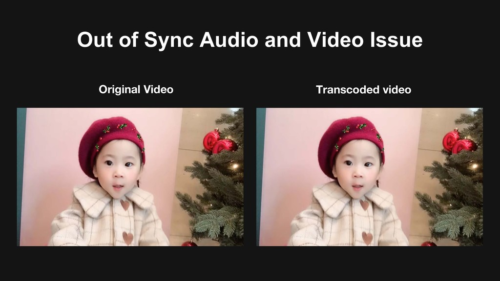 Out of Sync Audio and Video Issue Original Vide...