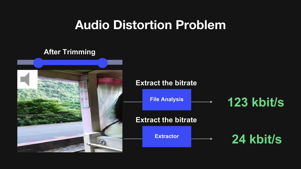 Audio Distortion Problem After Trimming Extract...