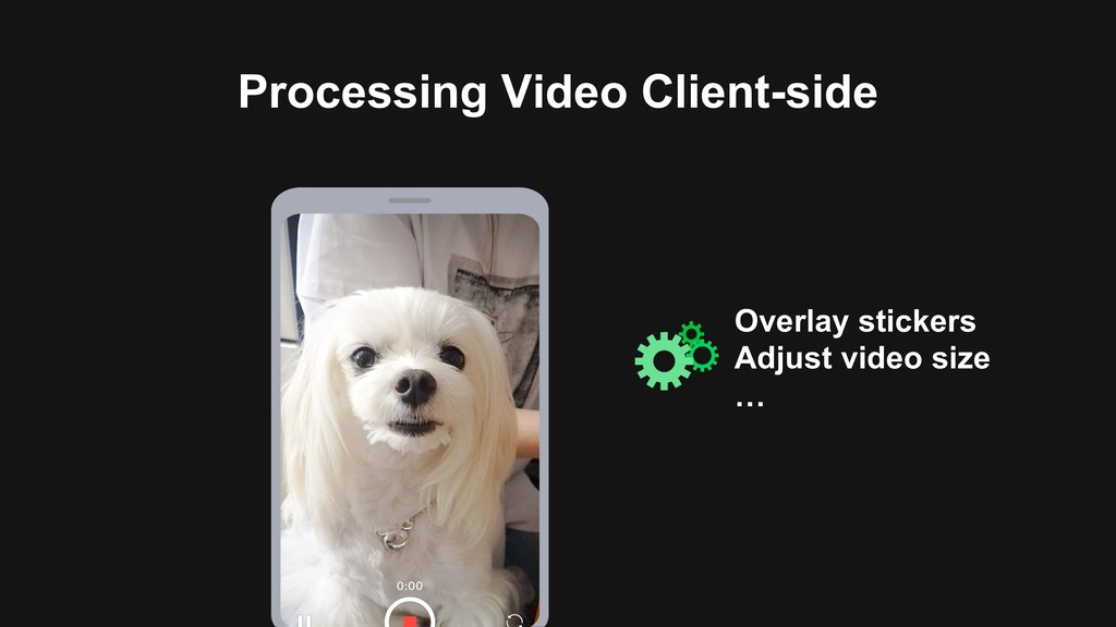 Processing Video Client-side Overlay stickers A...