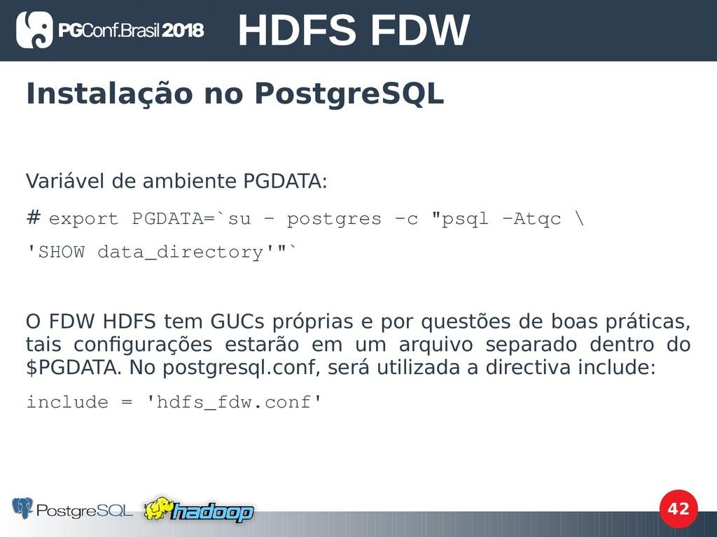 42 Instalação no PostgreSQL Variável de ambient...