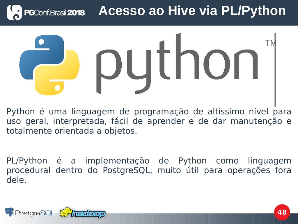 48 Python é uma linguagem de programação de alt...