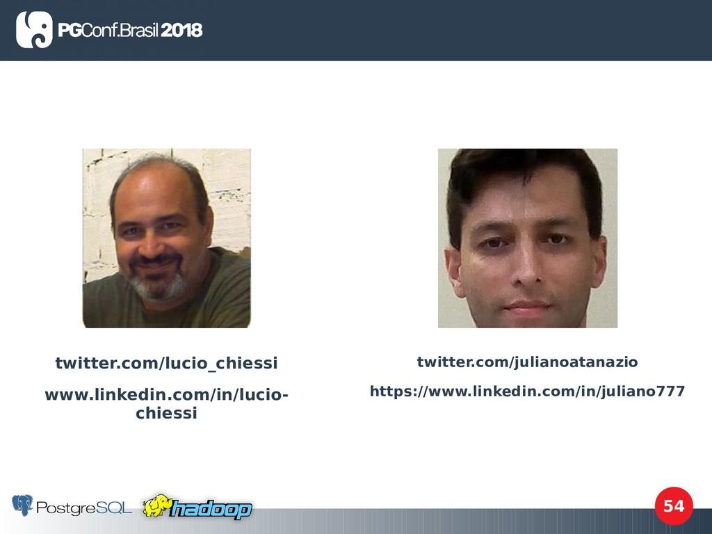 54 twitter.com/lucio_chiessi www.linkedin.com/i...