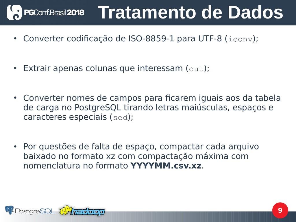 9 ● Converter codifcação de ISO-8859-1 para UTF...