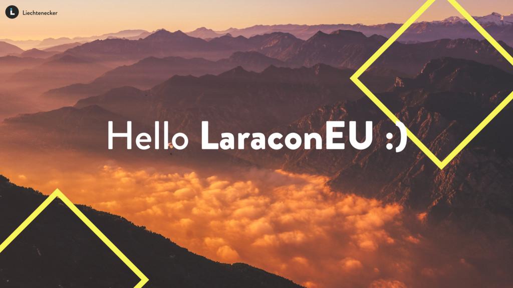 Hello LaraconEU :)