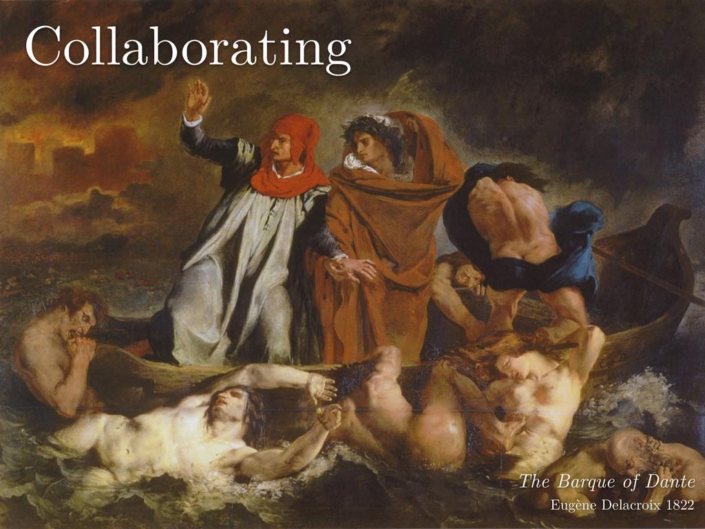 The Barque of Dante Eugène Delacroix 1822 Coll...