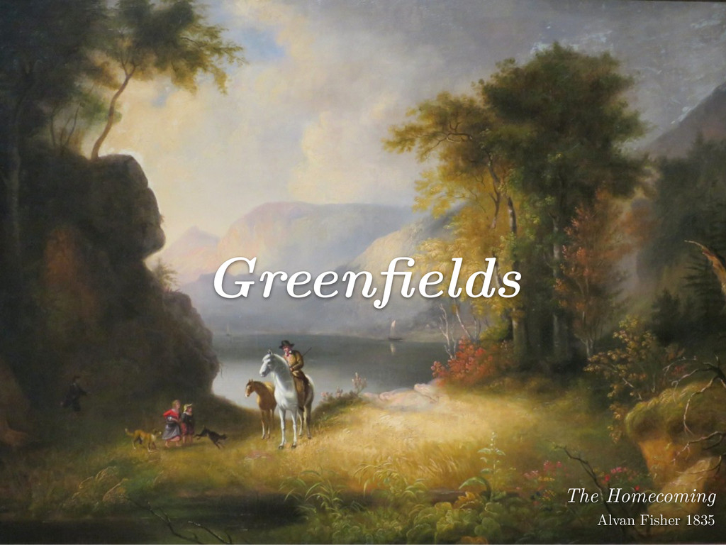 Greenfields The Homecoming Alvan Fisher 1835
