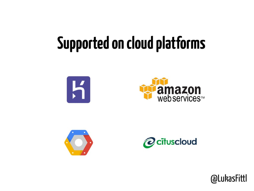 @LukasFittl Supported on cloud platforms