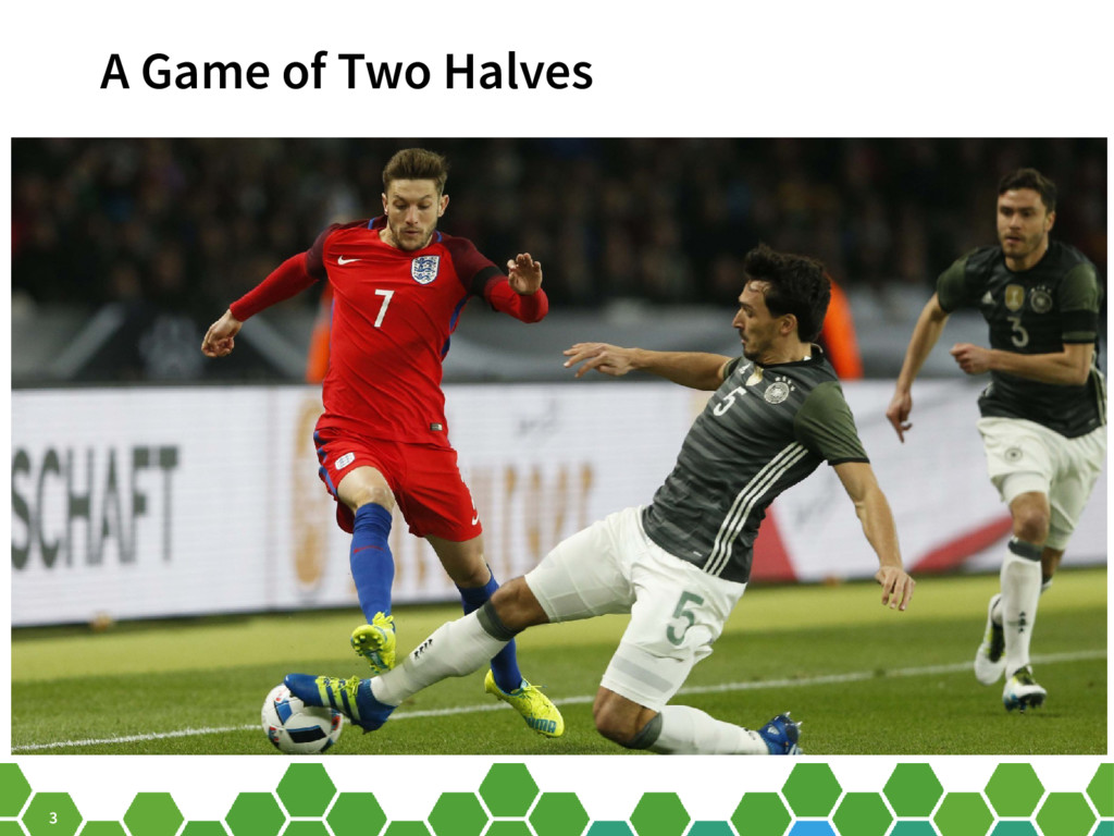 3 A Game of Two Halves
