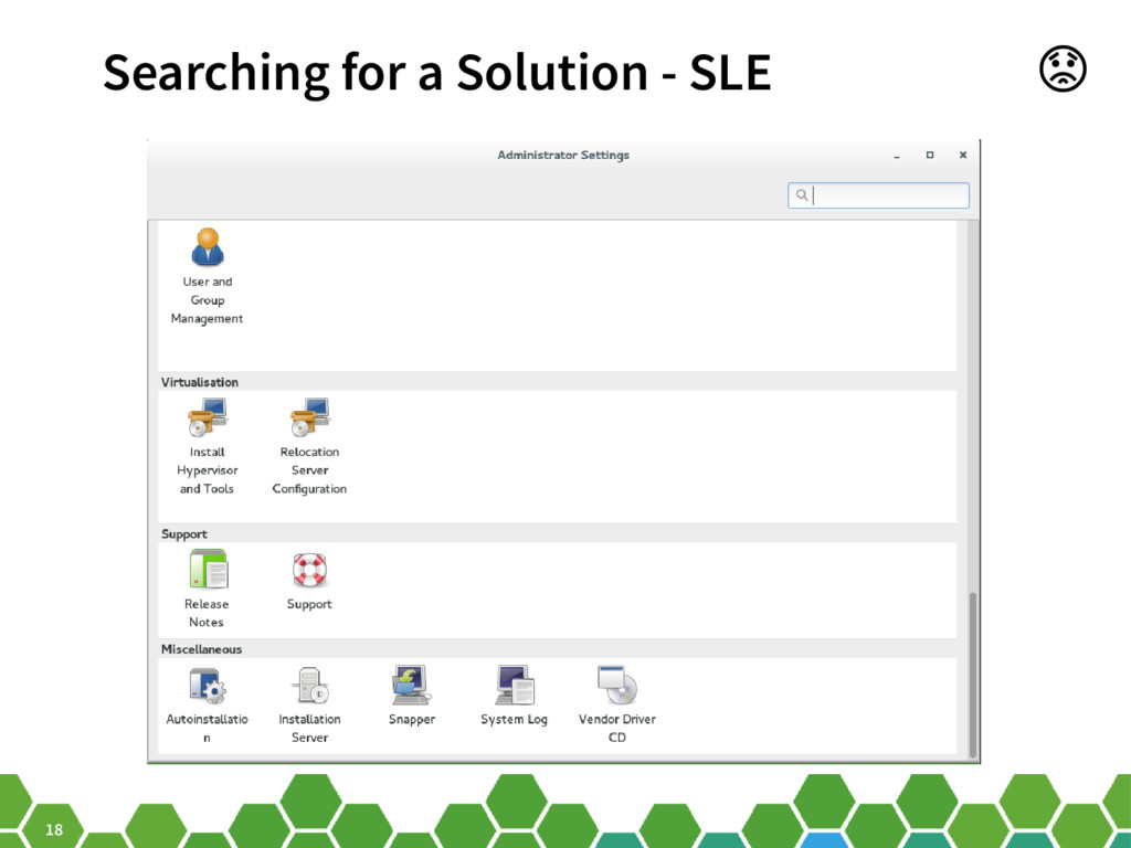 18 Searching for a Solution - SLE
