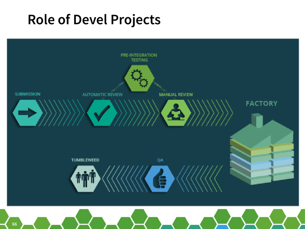 66 Role of Devel Projects