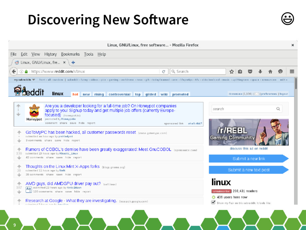 9 Discovering New Software