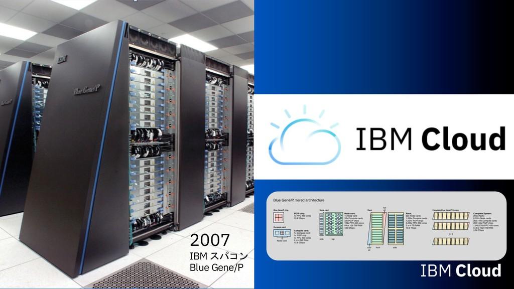 2007 IBM  Blue Gene/P