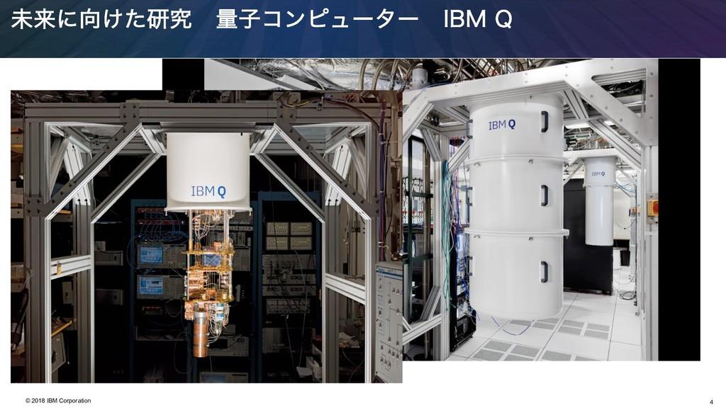 4 © 2018 IBM Corporation ະདྷʹ͚ͨݚڀ ྔࢠίϯϐϡʔλʔ *#....