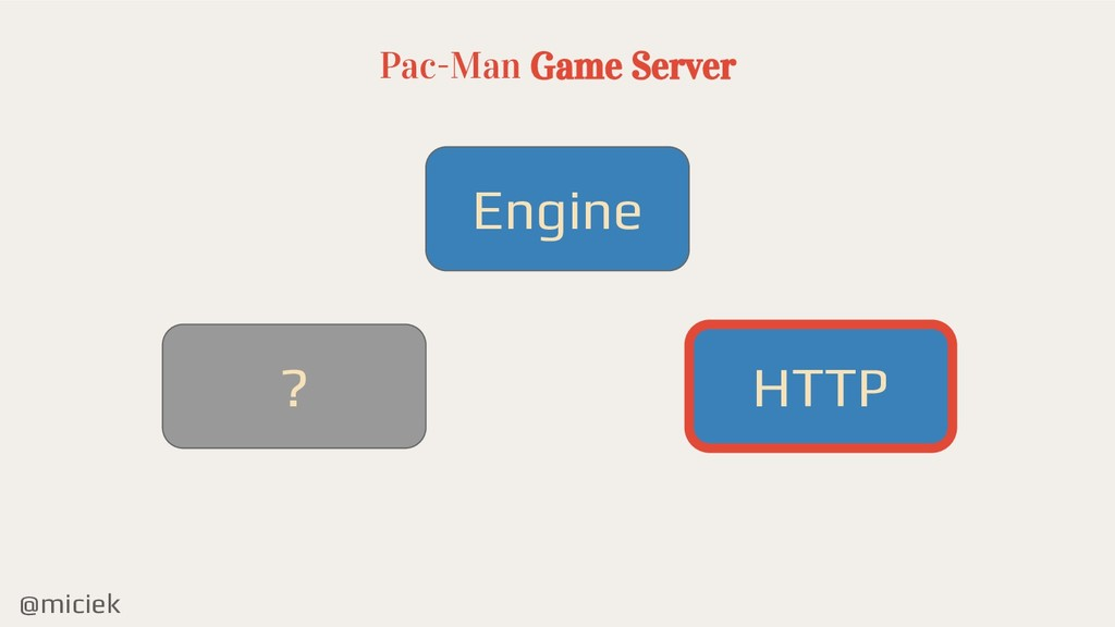 @miciek Pac-Man Game Server Engine HTTP ?