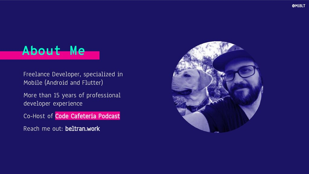 Freelance Developer, specialized in Mobile (And...