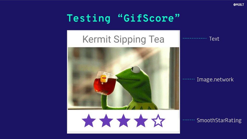 """Testing """"GifScore"""" Text Image.network SmoothSta..."""