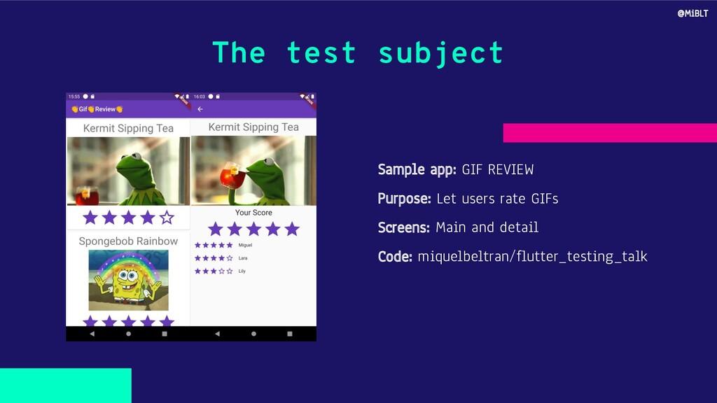 Sample app: GIF REVIEW Purpose: Let users rate ...