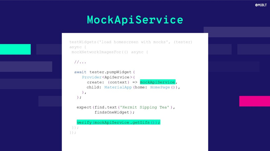 MockApiService testWidgets('load homescreen wit...