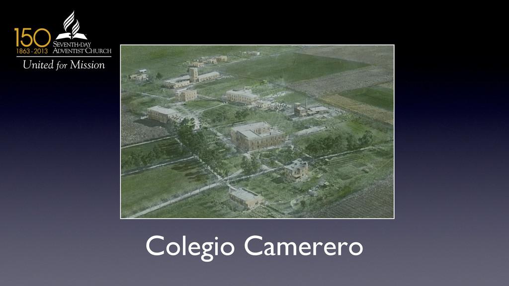Colegio Camerero