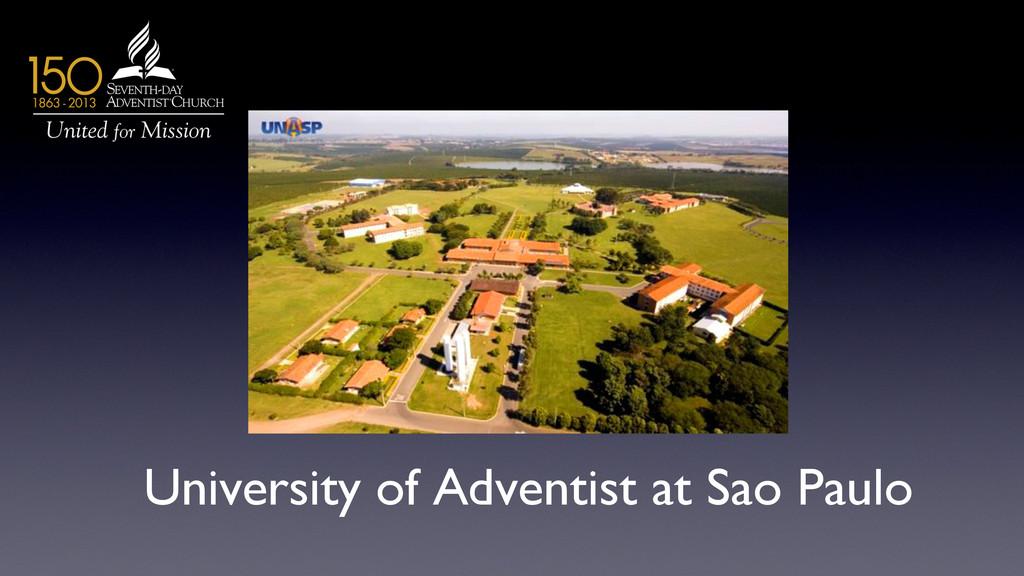 University of Adventist at Sao Paulo