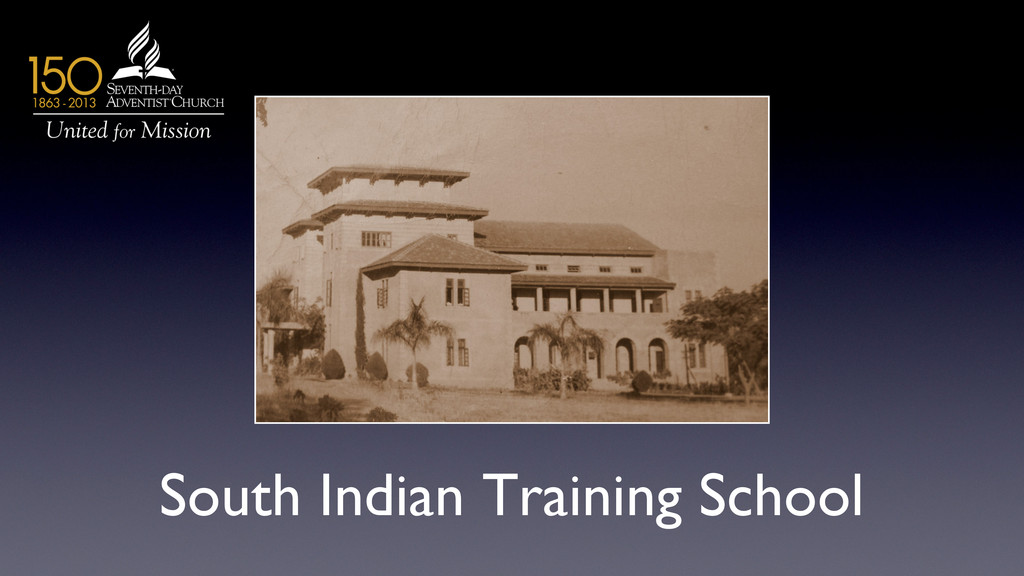 South Indian Training School