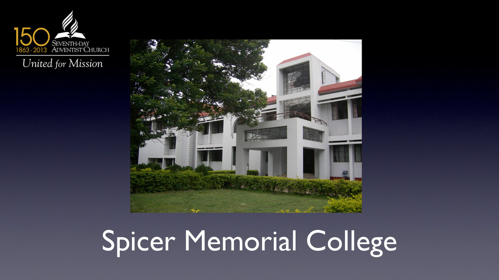 Spicer Memorial College