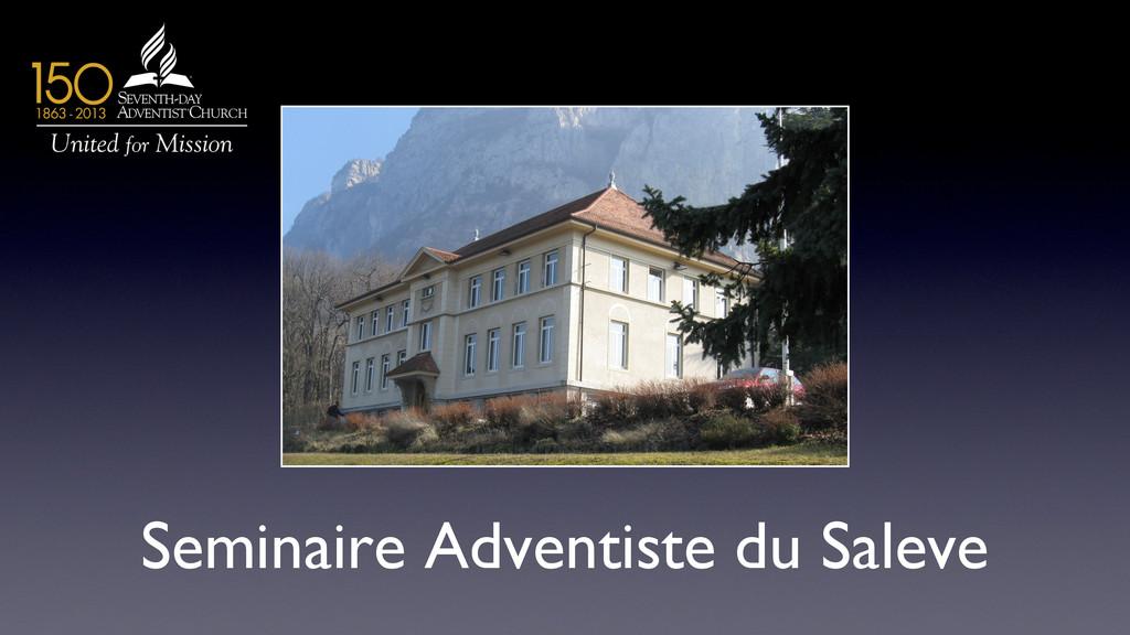Seminaire Adventiste du Saleve