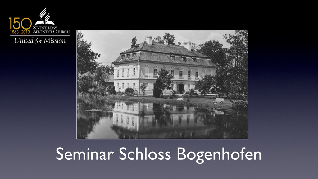 Seminar Schloss Bogenhofen
