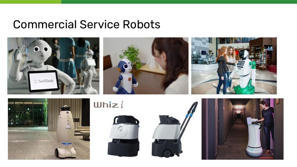 Commercial Service Robots