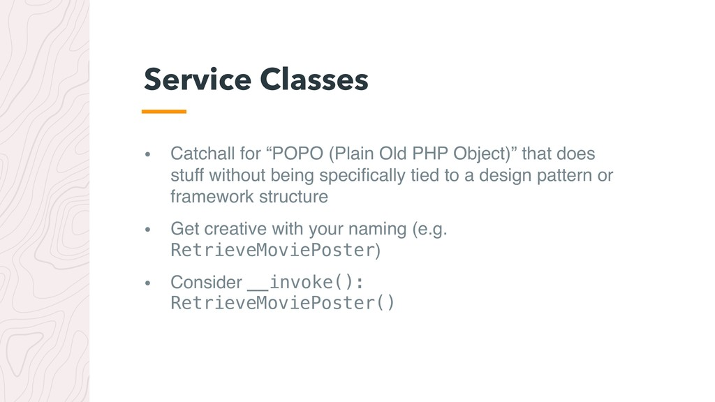 "• Catchall for ""POPO (Plain Old PHP Object)"" th..."