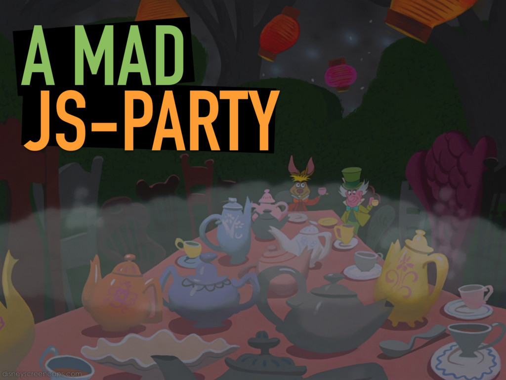 A MAD JS-PARTY