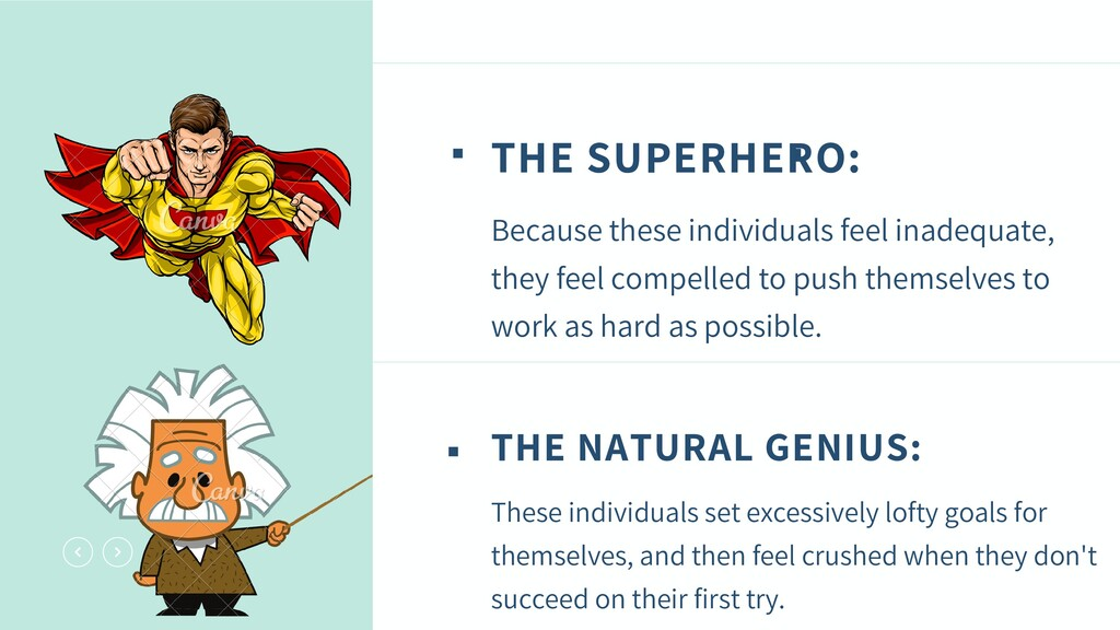 THE SUPERHERO: Because these individuals feel i...