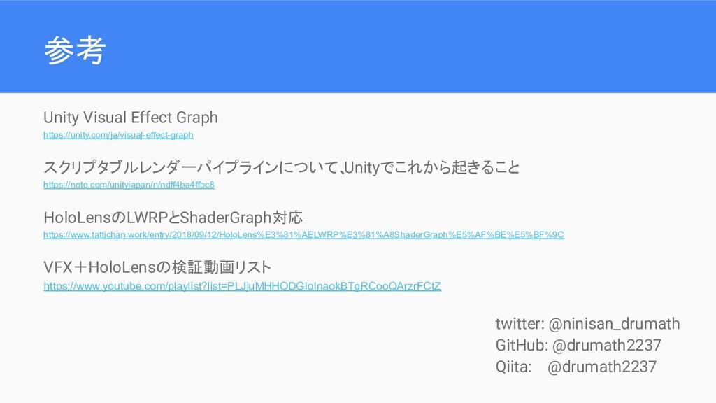 参考 Unity Visual Effect Graph https://unity.com/...