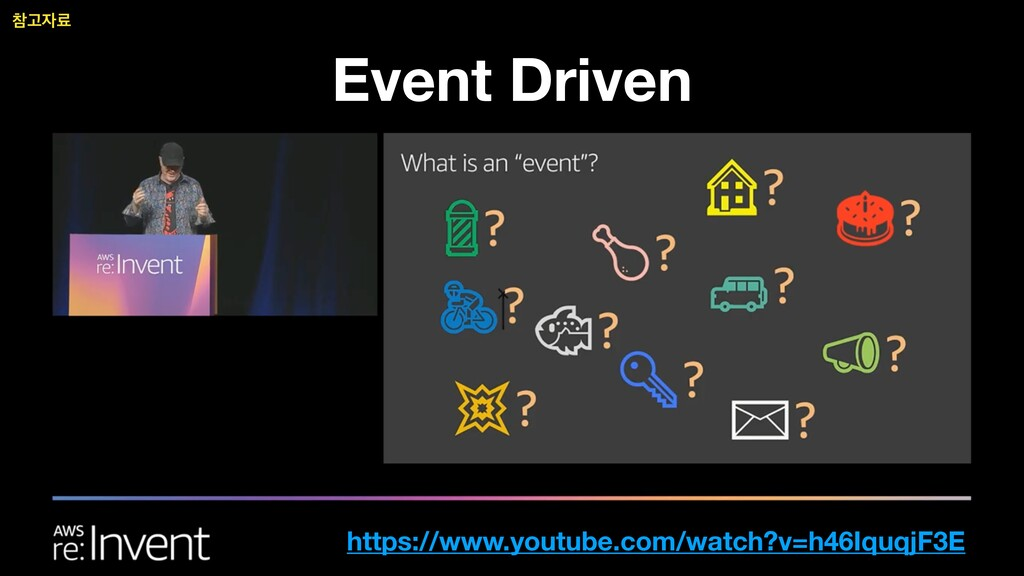 Event Driven https://www.youtube.com/watch?v=h4...