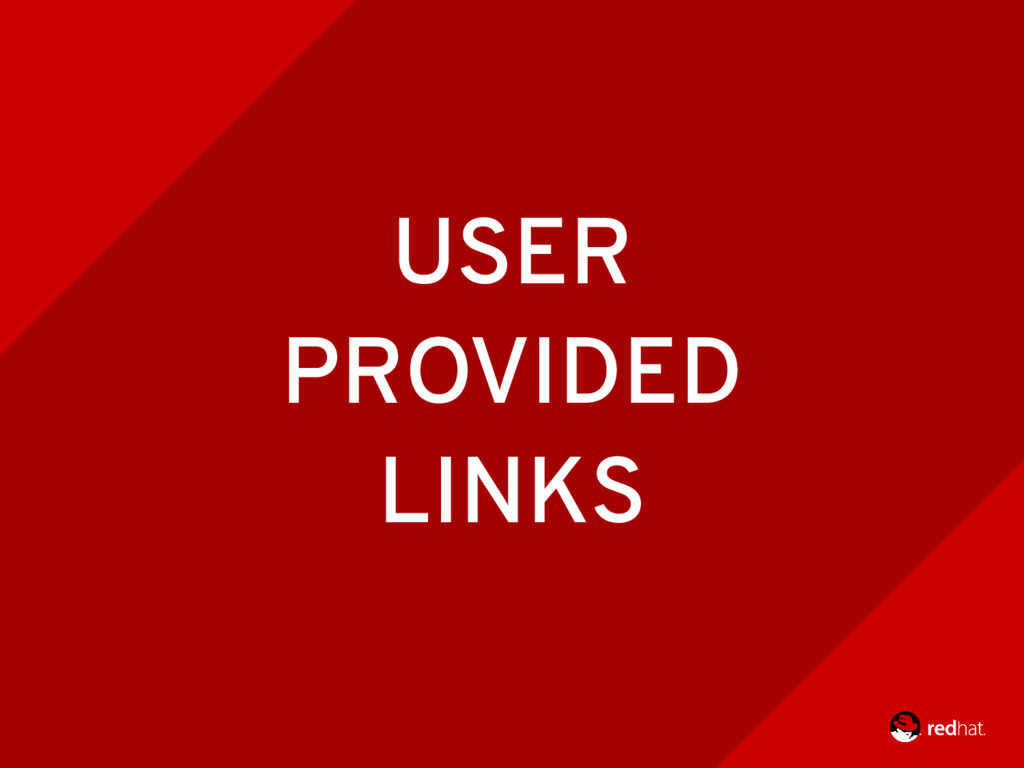 CONFERENCIA RAILS 2016 58 USER PROVIDED LINKS