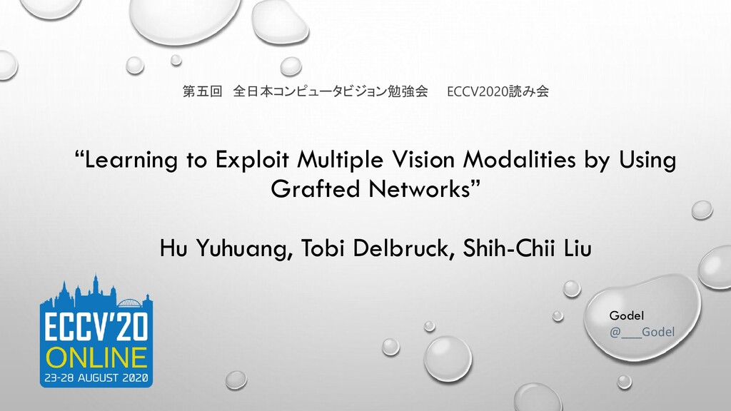"""""""Learning to Exploit Multiple Vision Modalities..."""