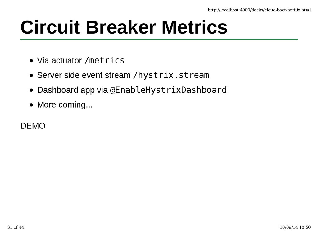 Circuit Breaker Metrics Via actuator /metrics S...