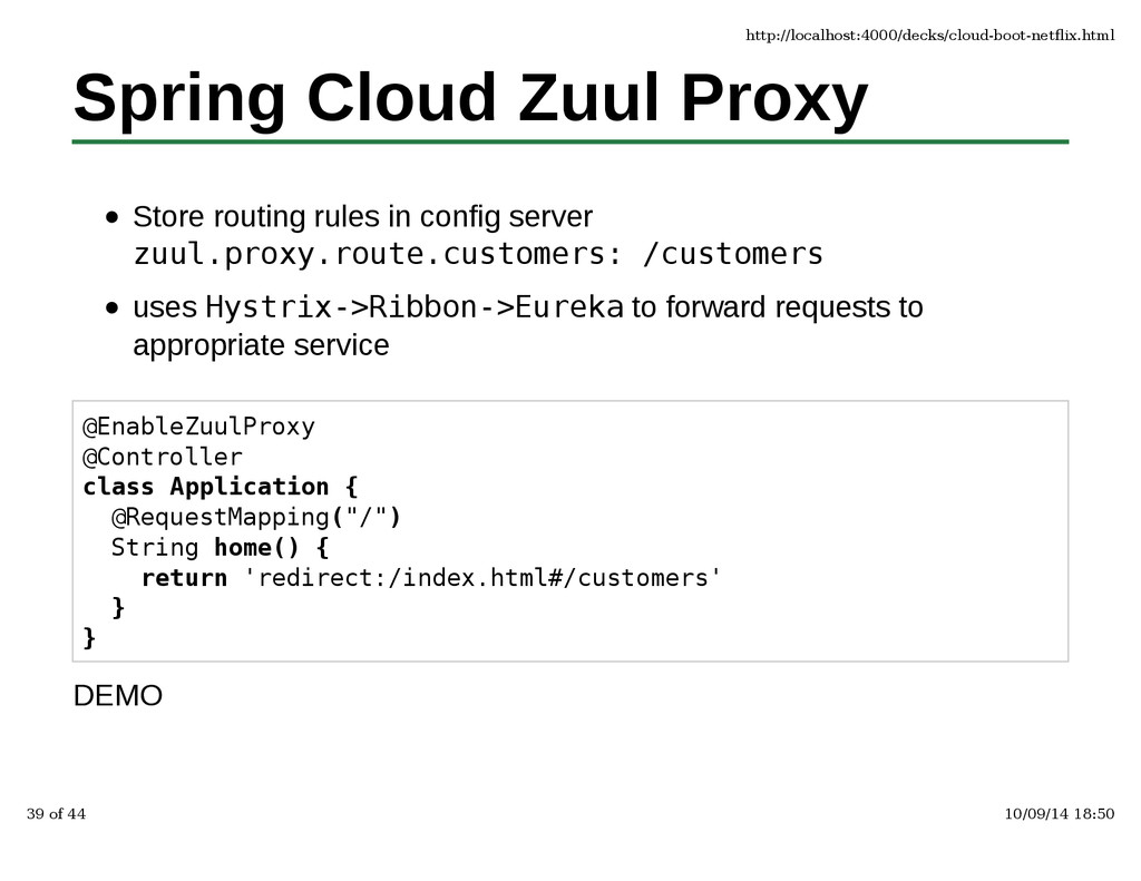 Spring Cloud Zuul Proxy Store routing rules in ...