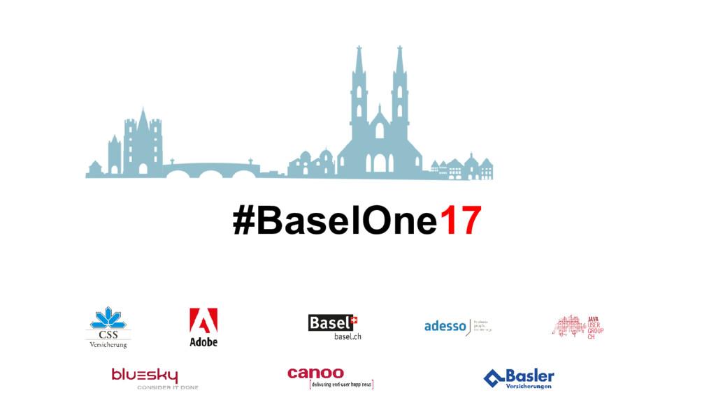 #BaselOne17