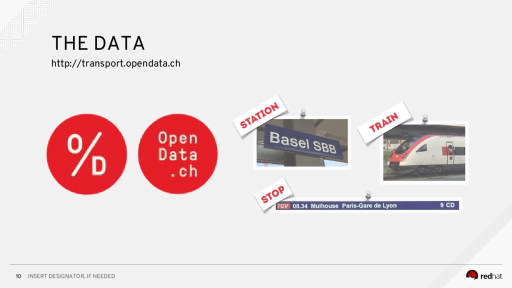 INSERT DESIGNATOR, IF NEEDED 10 THE DATA http:/...