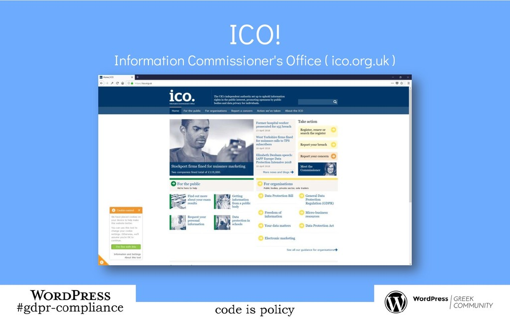 ICO! Information Commissioner's Office ( ico.or...