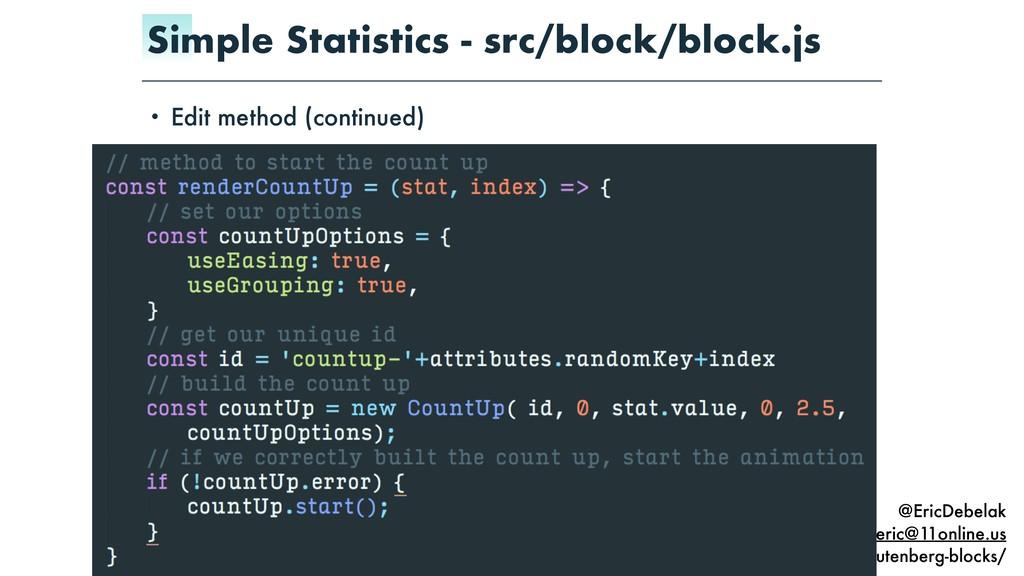 @EricDebelak eric@11online.us Slides: https://1...